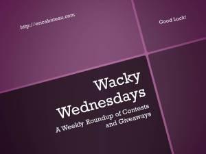 Wacky Wednesdays