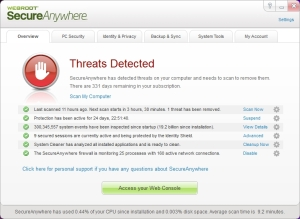 Webroot Screenshot 1
