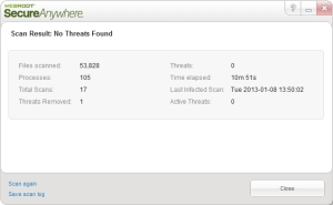 Webroot Screenshot 4
