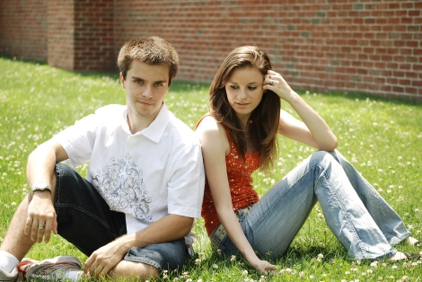 """Teens"" by binababy12 (2009) Stock Photo"